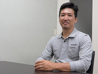 拓進産業(株)代表取締役 長澤拓郎